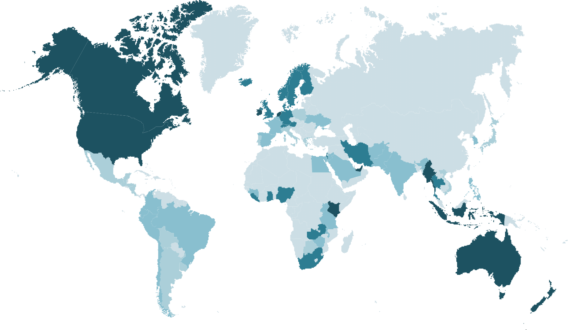 Insights world map